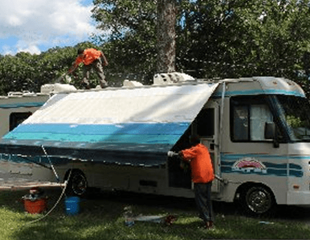 RV Mobile Home Detailing Virginia Beach